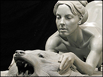 Britney Spears sculpture