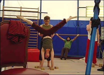 Escuela de circo en Barcelona, España
