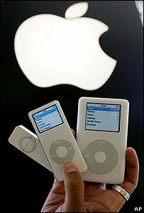 Productos iPod de Apple Computers