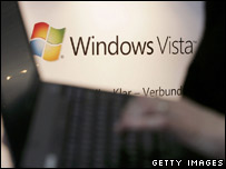 Advertisement for Windows Vista