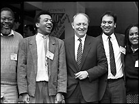 Ethnic minority MPs in 1987
