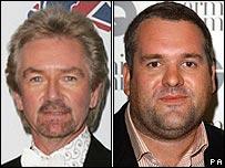 Noel Edmonds and Chris Moyles