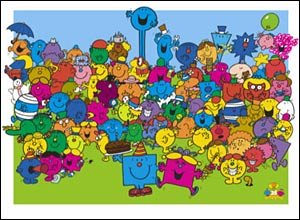 The cast of the Mr Men