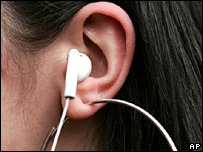 Ipod earpiece 