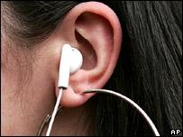 Ipod earpiece