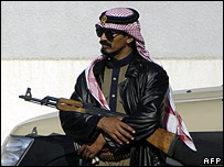 Saudi security officer
