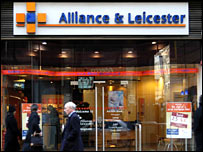 Alliance & Leicester branch front