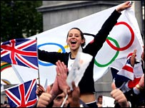 London celebrates the 2012 Olympic announcement