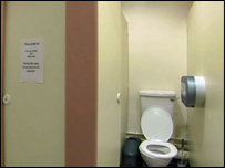 Toilets at Sainsbury's supermarket
