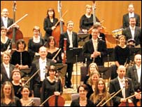 Members of the Halle Orchestra