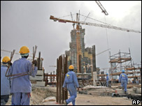 Dubai building site