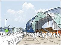 Bristol Arena mockup