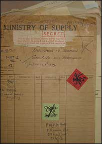 Ministry of Supply documents