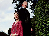 Gillian Anderson and Charles Dance in Bleak House