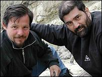 Marcelo Tejedor y Adán Tauber