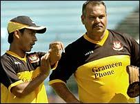 Mohammad Ashraful and Dav Whatmore