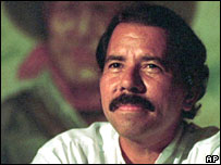 Former Nicaraguan leader Daniel Ortega