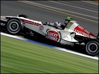 Honda test driver Anthony Davidson