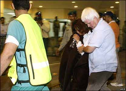 Foreign survivors leave hospital