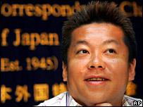 Livedoor boss Takafumi Horie