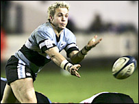 Cardiff Blues scrum-half Ryan Powell