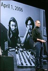 Apple boss Steve Jobs