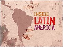 Newsnight's Inside Latin America graphic