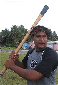 Batsman on tuvalu
