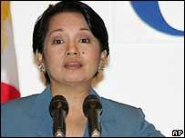 Philippine President Gloria Arroyo