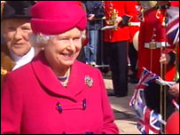 The Queen visiting Stafford