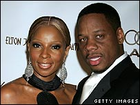 Mary J Blige with husband Kendu Isaacs