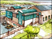 Artist impression of Winding House improvements