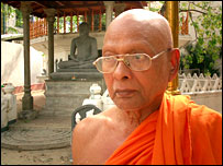 Sri Lankan Buddhist high priest, the Venerable Gnanawimala