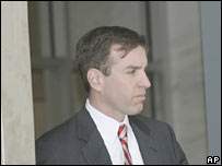 Tony Rudy leave a federal court in Washington on 31 March 2006