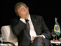 Lula da Silva, presidente de Brasil
