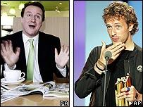 David Cameron and Chris Martin
