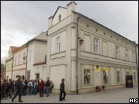 Дом в Вадовице, где родился Карол Войтыла