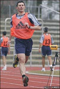 El �rbitro alem�n Markus Merk.