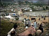 Remains of Balakot