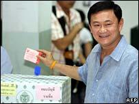 Thai prime minister votes