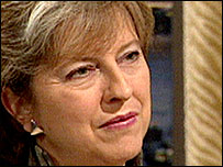 Shadow Leader of the Commons, Theresa May MP