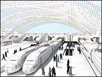 Impression of Birmingham Grand Central