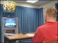 Video link to court room