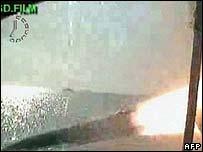 Iran's latest test missile