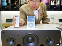 Apple iPods and Apple's new hi-fi system