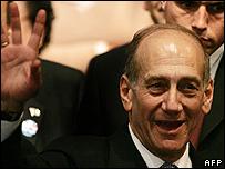Acting Israeli PM Ehud Olmert