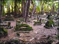 Cemetery on Ile du Coin