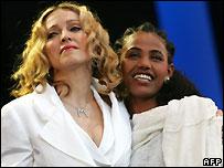 Madonna & Birhan Woldou
