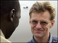 Jan Egeland in Sudan