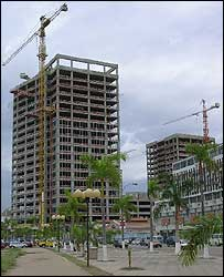 Building site in Luanda